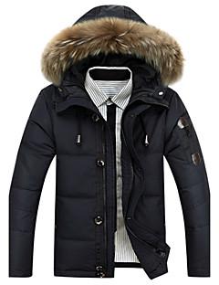 billige Herremote og klær-Herre Sport Arbeid Polstret - Ensfarget Bomull