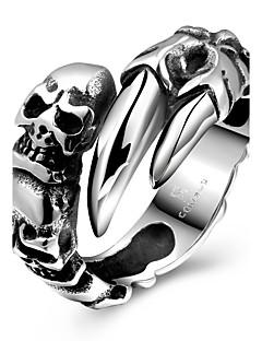 preiswerte Große Aktion des Schmuckd und der Armbanduhrs-Damen Statement-Ring Modisch Stahl Modeschmuck Party