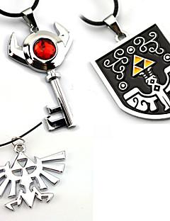 billige Anime cosplay-Smykker Inspirert av The Legend of Zelda Cosplay Anime / Videospill Cosplay-tilbehør Halskjeder Legering Herre / Dame Halloween-kostymer