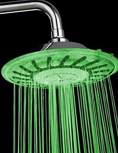 עכשווי מקלחת גשם כרום מאפיין for  LED , ראש המקלחת