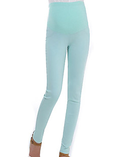 cheap Maternity Wear-Women's Basic Skinny Pants - Solid Colored High Waist