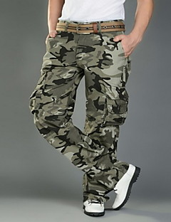 Cotton Fashion Wide-body Camouflage Overalls
