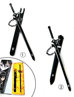 billige Anime Cosplay Tilbehør-Våpen / Sverd Inspirert av Sword Art Online Cosplay Anime Cosplay-tilbehør Sverd Legering Herre / Dame ny / Varmt Halloween-kostymer