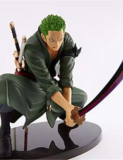 billige Anime cosplay-Anime Action Figurer Inspirert av One Piece Roronoa Zoro 18cm CM Modell Leker Dukke Herre