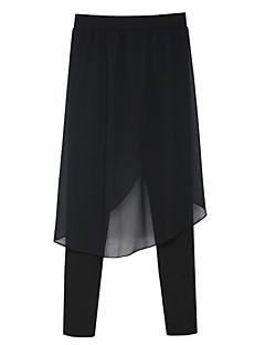 Kvinner Vintage / Gatemote Tettsittende / Harem Bukser Modal / Polyester Mikroelastisk