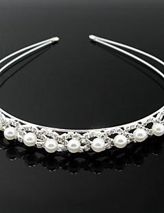 模造真珠合金のヘッドバンドヘッドピース古典的な女性のスタイル