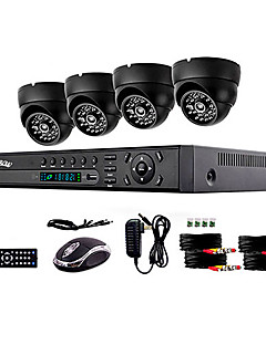 4 kanallı ntsc 960 (h) x 582 (v) avukat: 976 (s) x 494 (v) gözetim sistemi güvenlik sistemi ev güvenliği