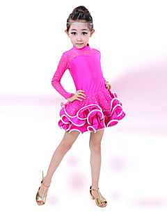 hesapli -latin dansı çocuk moda performans pamuklu elmas elbiseleri elbiseler dance kostümler by shall we®