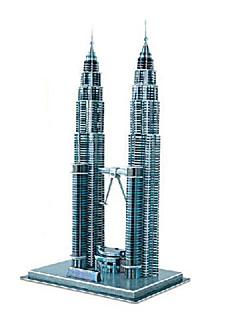 お買い得  ゲーム&パズル-ジグソーパズル 3Dパズル ビルディングブロック DIYのおもちゃ 有名な建築物 ペーパー ブラウン プラモデル&組み立ておもちゃ