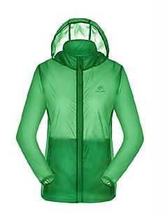 tanie Odzież turystyczna-Damskie Bunda na turistiku Na wolnym powietrzu Wodoodporny Quick Dry Ultraviolet Resistant Oddychający Płaszcz przeciwdeszczowy Kurtka