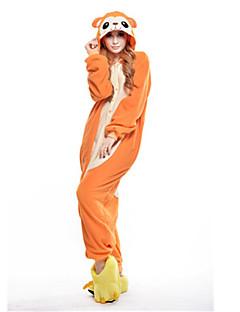 billige Kigurumi-Kigurumi-pysjamas Ape Onesie-pysjamas Kostume Polar Fleece Oransje Cosplay Til Pysjamas med dyremotiv Tegnefilm Halloween Festival /