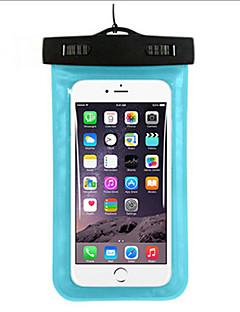 Száraz tasakok Száraz dobozok Vízálló Mobiltelefon Búvárkodás és felszíni búvárkodás PVC Zöld Kék Bíbor Fekete Fehér Sárga