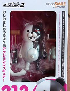 billige Anime cosplay-Anime Action Figurer Inspirert av Cosplay Monokuma 10 CM Modell Leker Dukke