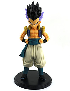 billige Anime cosplay-Dragon Ball Son Gohan PVC 22CM Anime Action Figurer Modell Leker Doll Toy