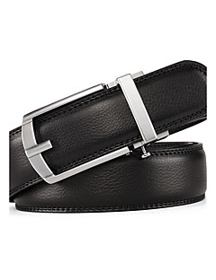 cheap Fashion Belts-Men's Cute Party Work Casual Leather Alloy Waist Belt