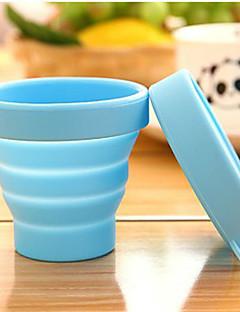 voordelige Reisbekers-Silicium Rubber Reisbekers draagbaar drinkware 1