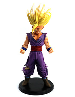 billige Anime cosplay-Dragon Ball Son Gohan PVC 24CM Anime Action Figurer Modell Leker Doll Toy