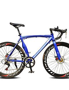 baratos Total Promoção Limpa Estoque-Bicicletas de estrada Ciclismo 14 velocidade 26 polegadas / 700CC SHIMANO TX30 Freio a Disco Duplo Comum Manocoque Comum Liga de alumínio / Aço / #