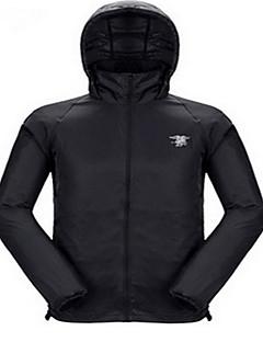 Hunting Jacket Waterproof Ultraviolet Resistant Breathable Men's Long Sleeves Windbreaker Top for Camping / Hiking Hunting Fishing