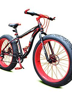 baratos Total Promoção Limpa Estoque-Bicicleta De Montanha Ciclismo 7 Velocidade 26 polegadas / 700CC Shimano Freio a Disco Duplo Garfo com Suspensão a Mola Manocoque Comum Liga de alumínio / Aço / #