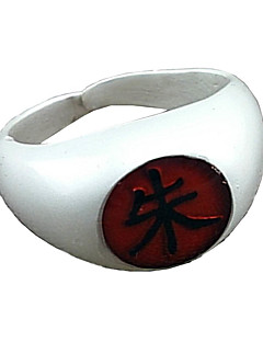 Smykker Inspirert av Naruto Itachi Uchiha Anime Cosplay Tilbehør Ring Hvit / Rød / Gul / Blå / Purple / Grønn Legering Mann / Kvinnelig