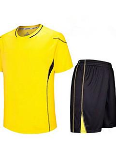 baratos Futebol camisas e Shorts-Homens Futebol Conjuntos de Roupas/Ternos Respirável Secagem Rápida Primavera Verão Outono Inverno TeryleneExercício e Atividade Física