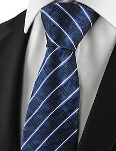 billige Slips og sløyfer-Herre Vintage Søtt Fest Kontor Fritid Slips Stripet Bomull Rayon Polyester