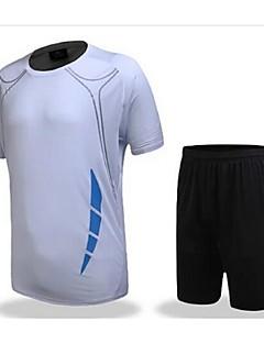 tanie Koszulki piłkarskie i szorty-DZIECIĘCE Piłka nożna Zestawy odzieży/Garnitury Oddychający Quick Dry Wiosna Lato Jesień Zima TeryleneFitness Sport i rekreacja Piłka