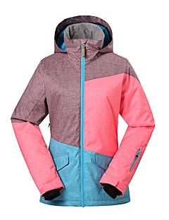 GSOU SNOW Mulheres Jaqueta de Esqui Prova-de-Água Térmico/Quente A Prova de Vento Resistente Raios Ultravioleta Isolado Permeável á