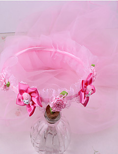 tanie Akcesoria dla dzieci-Akcesoria do włosów - Dla dziewczynek - Na każdy sezon - Szyfon - Opaski na głowę - Fuchsia Rainbow Różowy