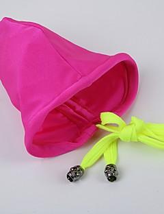 billige Herremote og klær-Herre Tynn-Ensfarget Polyester Nylon Spandex Mørkeblå Lilla Fuksia Grønn Lyseblå