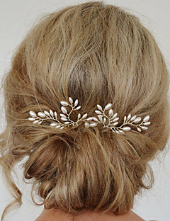 Women's Fashion Casual Sweet Pearl Refinement Flower Hairpin Hair Accessories 1 Piece