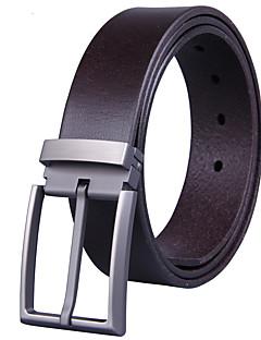 cheap Fashion Belts-Men's Work Casual Waist Belt - Solid