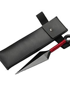 Våpen / Veske Inspirert av Naruto Naruto Uzumaki Anime Cosplay Tilbehør Svart ABS / Lær