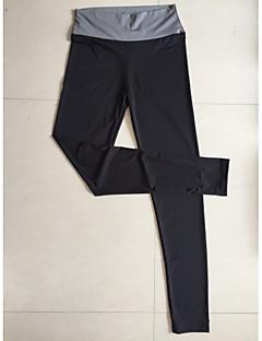 billige -Yogabukser Bukser Elastisk Naturlig Stretch Drakter Dame Yoga & Danse Sko