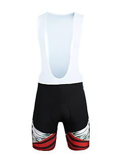 ILPALADINO Shorts med seler til sykning Herre Sykkel Sykkelshorts Med Seler Bunner Sykkelklær Fort Tørring Vindtett Anatomisk design