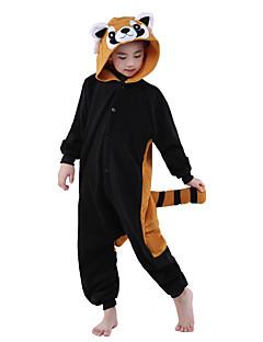 Eläin Kigurumi Lapset Halloween Joulu Karnevaali Lasten päivä Uusi vuosi Festivaali/loma Halloween-asut Ruskea musta