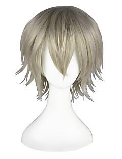 Cosplay Parykker Final Fantasy Hope Estheim Gray Kort / Rett Anime Cosplay Parykker 35 CM Varmeresistent Fiber Mann / Kvinnelig