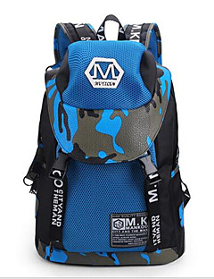 男性 バッグ キャンバス バックパック のために カジュアル イエロー レッド ブルー