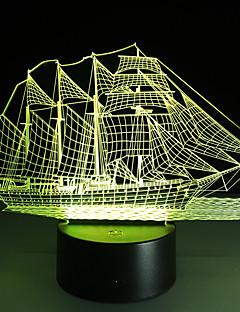 baratos Luzes de presente-Iluminaço da iluminaço da lâmpada da ilusão 3d que fornece a luz da noite da navigação iluminaço 3d acrílico da atmosfera da luz da lâmpada da iluminaço da novidade