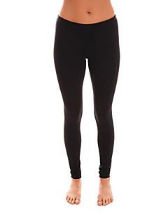 billige -Yogabukser Bukser Bunner Pustende Elastisk Naturlig Stretch Drakter Unisex Yoga & Danse Sko