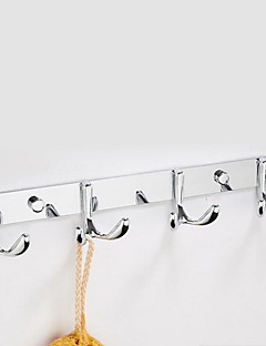 cheap Robe Hooks-Robe Hook Contemporary Stainless Steel 1 pc - Hotel bath