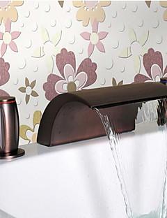 levne -olej třel bronzový vodopád umyvadlem kohoutek