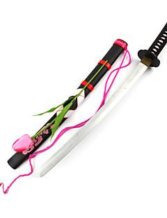 Arma Espada Inspirado por Projecto de Touhou Youmu Konpaku Anime Acessórios para Cosplay Espada Madeira Feminino