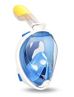 voordelige Surfen, duiken & snorkelen-Snorkelmasker Duiken Maskers Anti-condens Waterbestendig GoPro-compatibel Lekbestendig 180 Graden Volledige gezichtsmaskers Ademend -