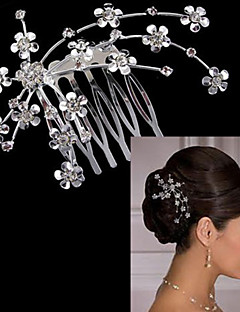 cheap Flower Girl Headpiece-Alloy Hair Combs 1 Wedding Special Occasion Headpiece