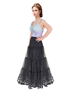 cheap Wedding Slips-Wedding Special Occasion Party / Evening Daily Slips Polyester Organza Satin Tulle Floor-length A-Line Slip Classic & Timeless with
