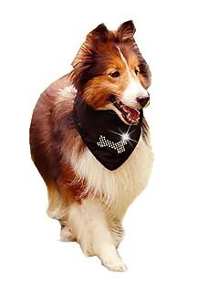 billiga Hundkläder-Katt Hund Dräkter / Kostymer Halsband Knyta / Fluga Hundkläder Enfärgad Dödskalle A B C Cotton Kostym För husdjur Sommar Herr Dam Ledigt
