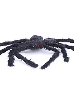cheap Halloween Props-Spider Halloween Props Men's Women's Halloween Festival / Holiday Halloween Costumes Black Solid Colored