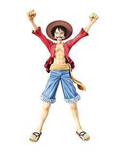 billige Anime cosplay-Anime Action Figurer Inspirert av One Piece Monkey D. Luffy CM Modell Leker Dukke Herre Gutt Jente Klassisk Moro